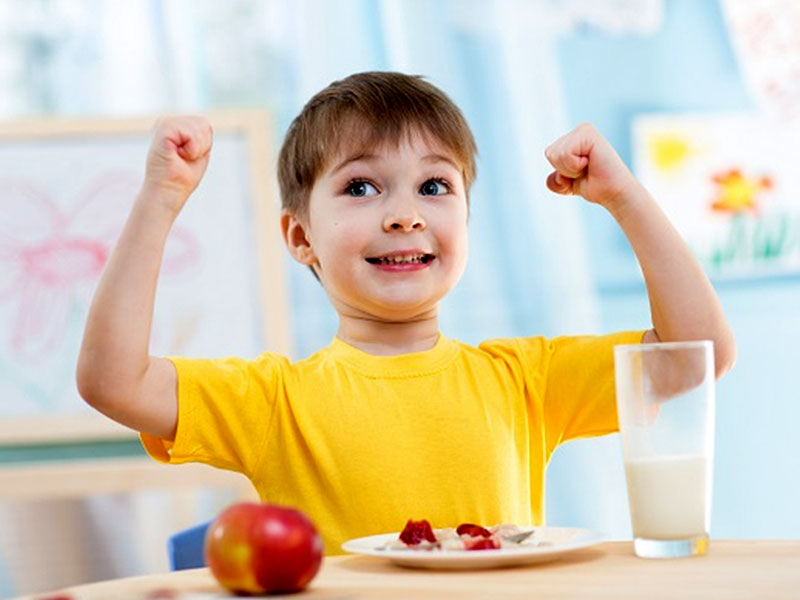 تغذیه در تقویت سیستم ایمنی بدن کودکان