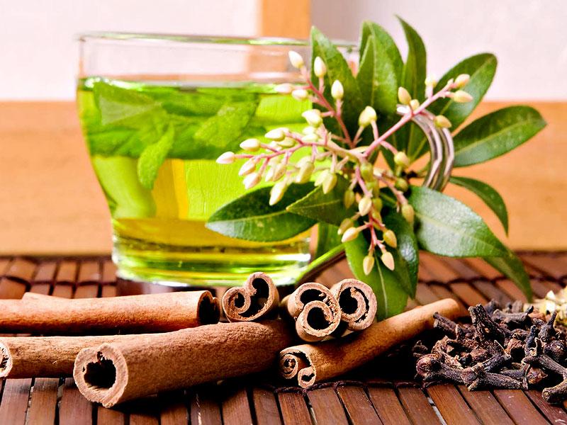 خواص چای سبز و دارچین