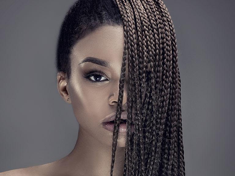 مدل بافت آفریقایی