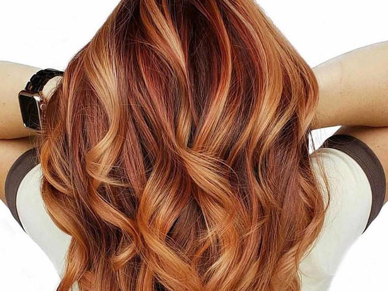 رنگ مو آمبره