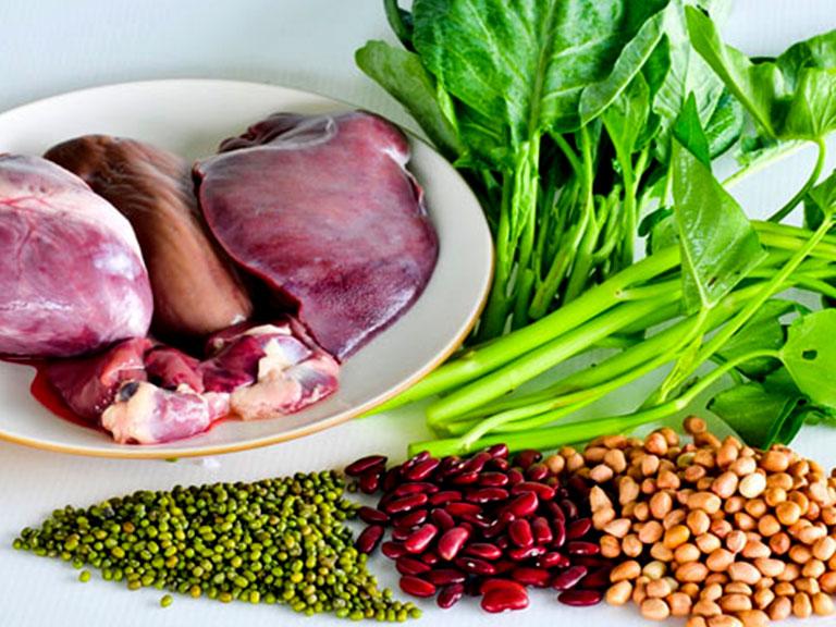 مواد غذایی حاوی آهن برای رفع خستگی