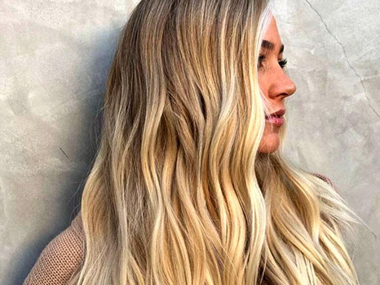 رنگ موی شنی و زیبا