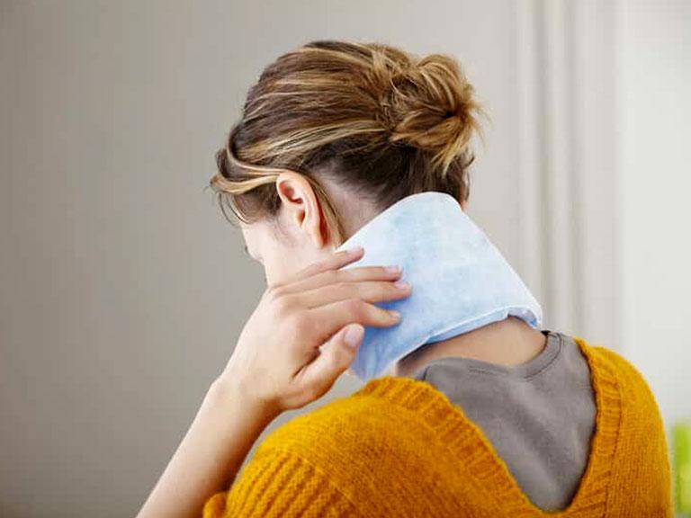 کمپرس گرم برای درد عضلات