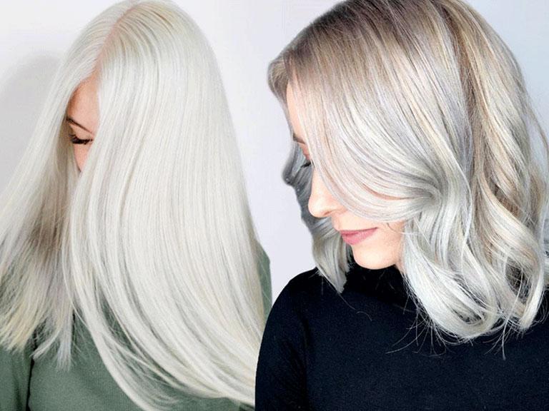 رنگ موی یخی