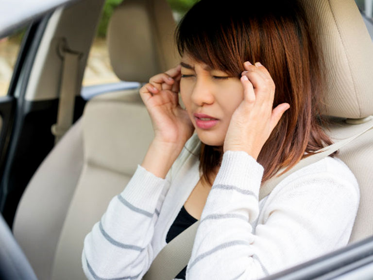 طب فشاری و ماشین گرفتگی