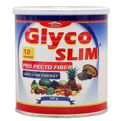 پودر گلیکو اسلیم (اسلیم لست ۳) کارن ۳۰۰g طعم شکلاتی