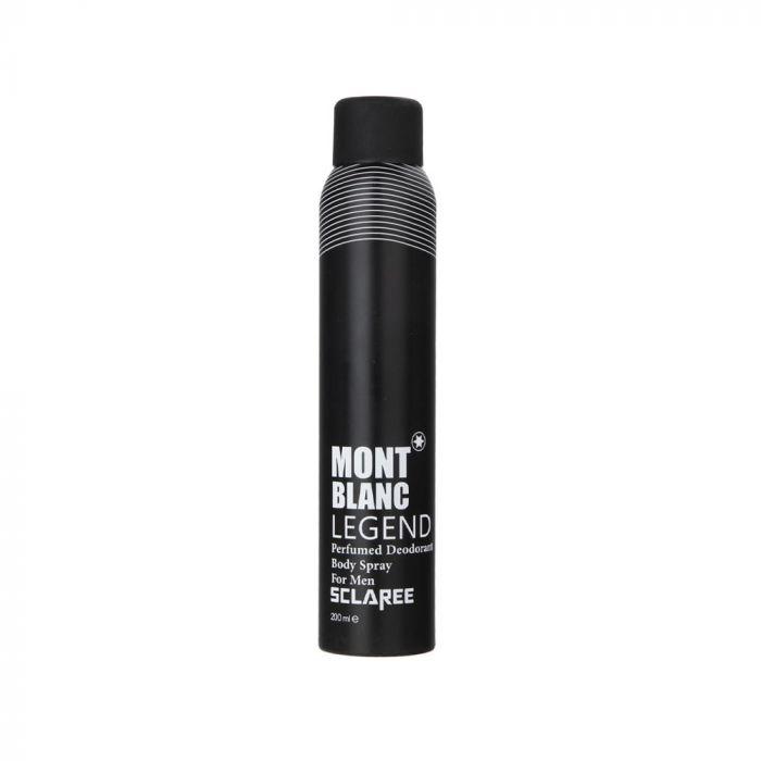 اسپری بدن مردانه مدل Mont Blanc اسکلاره